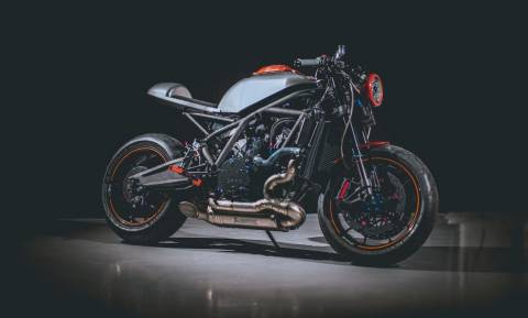 Αυτή είναι η πρώτη ελληνική μοτοσικλέτα - Δείτε τη (pics+vid)