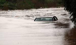 Κακοκαιρία - Κέρκυρα: Νεκρός 55χρονος οδηγός που παρασύρθηκε από ρέμα