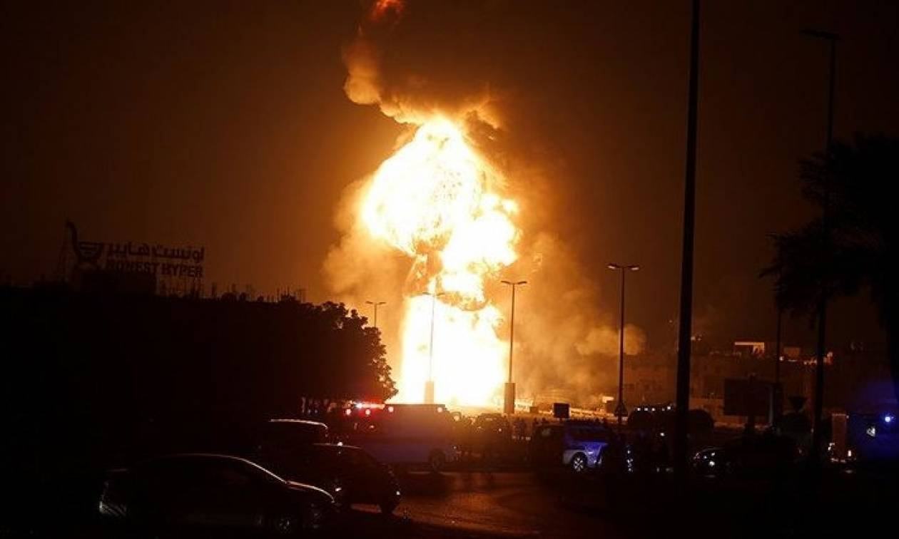 Τρομακτική έκρηξη σε αγωγό πετρελαίου στο Μπαχρέιν - Κατηγορούν το Ιράν για σαμποτάζ