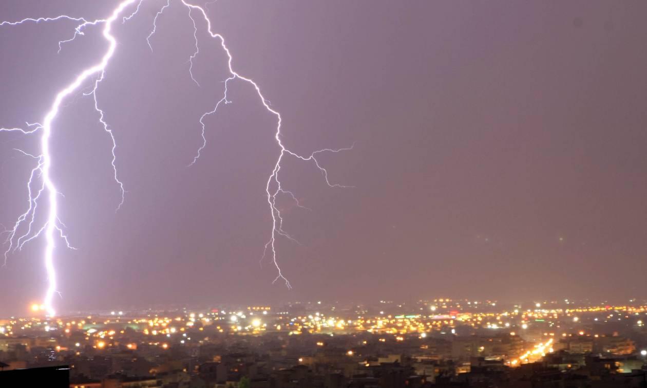 Έκτακτο δελτίο επιδείνωσης καιρού - Βροχές, καταιγίδες και χαλαζοπτώσεις