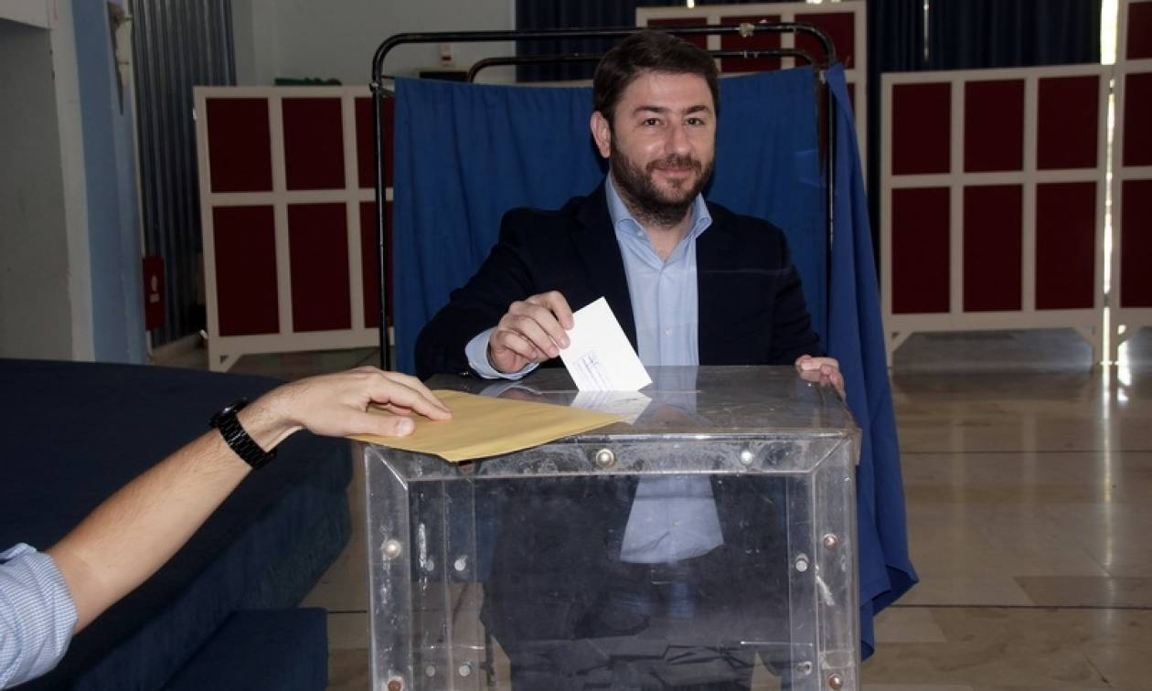 Εκλογές Κεντροαριστερά - Νίκος Ανδρουλάκης: Σας θέλω όλους δίπλα μου