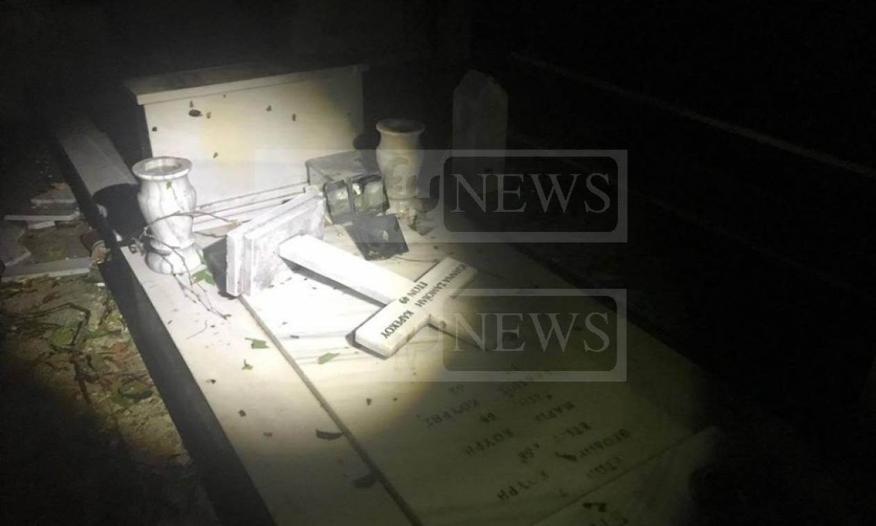 Κέρκυρα: Σκηνές αποκάλυψης – Ο ανεμοστρόβιλος έσπασε ακόμα και τα μνήματα