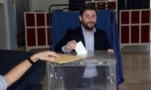 Εκλογές Κεντροαριστερά - Νίκος Ανδρουλάκης: Εγγυώμαι προσωπικά την ενότητα και την ανανέωση