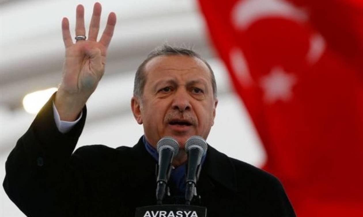 Μήνυμα Ερντογάν προς Πούτιν-Τραμπ: Αποσύρετε τα στρατεύματά σας από την Συρία