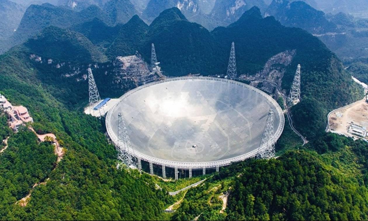 Η Κίνα αναζητά εξωγήινους με... ραδιοτηλεσκόπιο – γίγας! (vid)