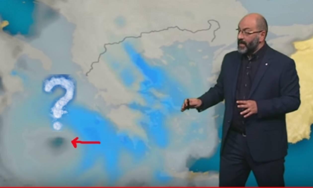 Έκτακτη προειδοποίηση του Σάκη Αρναούτογλου για πιθανή εμφάνιση Μεσογειακού κυκλώνα (video)