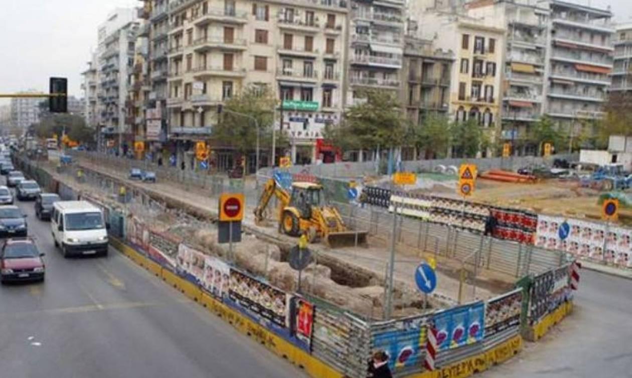 Με γοργούς ρυθμούς προχωρά το έργο του Μετρό στη Θεσσαλονίκη
