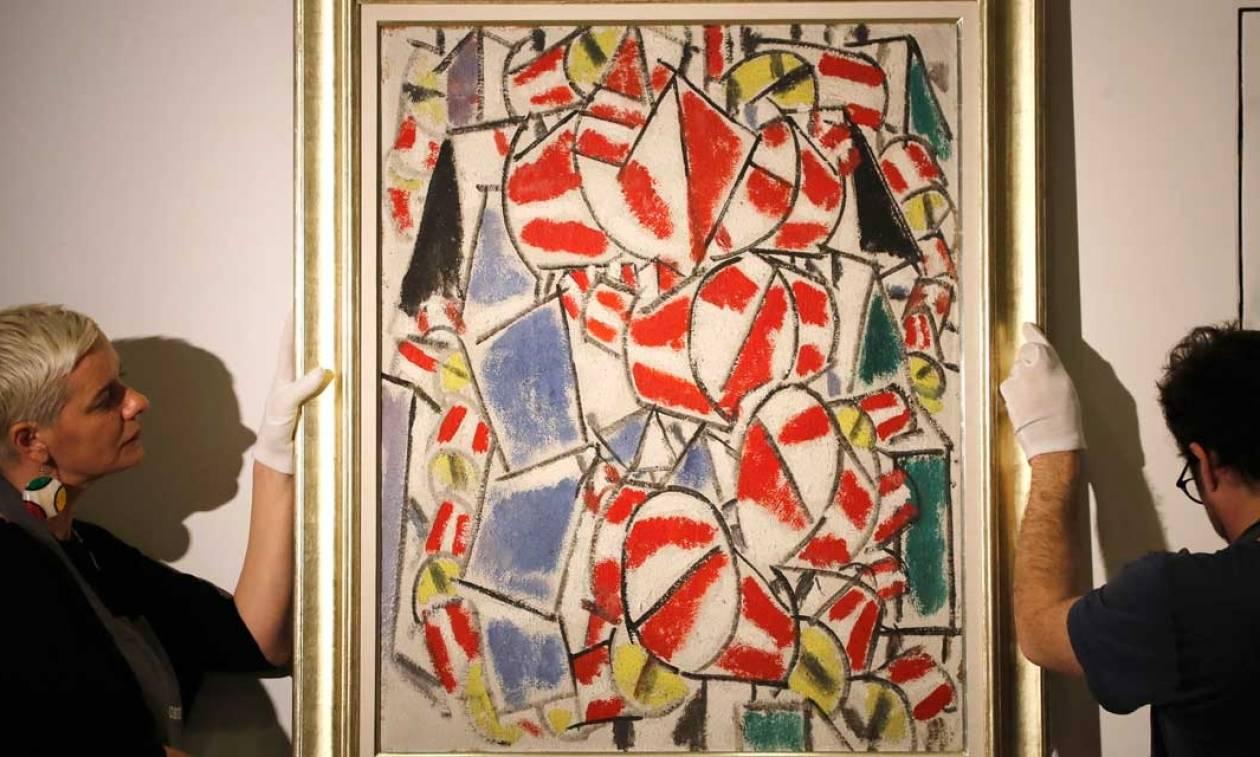 Τιμή - ρεκόρ έπιασε πίνακας του Φερνάν Λεζέ! (video)