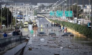 Κακοκαιρία: Θεομηνία στη Δυτική Αττική - Αυτοί οι δρόμοι είναι κλειστοί