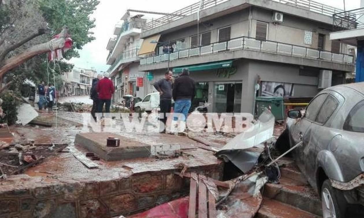 Число погибших наводнений вГреции возросло до14