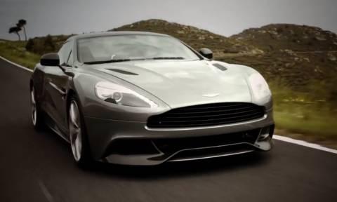 Προκαλεί ανατριχίλα ο ήχος που βγάζει η μηχανή της Aston Martin! (vid)