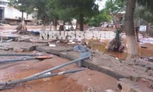 Νέα Πέραμος: Ο θάνατος και οι πλημμύρες σκέπασαν τη Δυτική Αττική