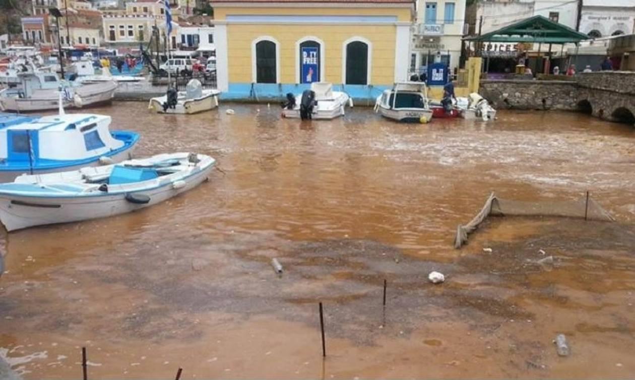 Κακοκαρία: Πολύ μεγαλύτερες οι ζημιές στη Σύμη από ότι είχε εκτιμηθεί αρχικά