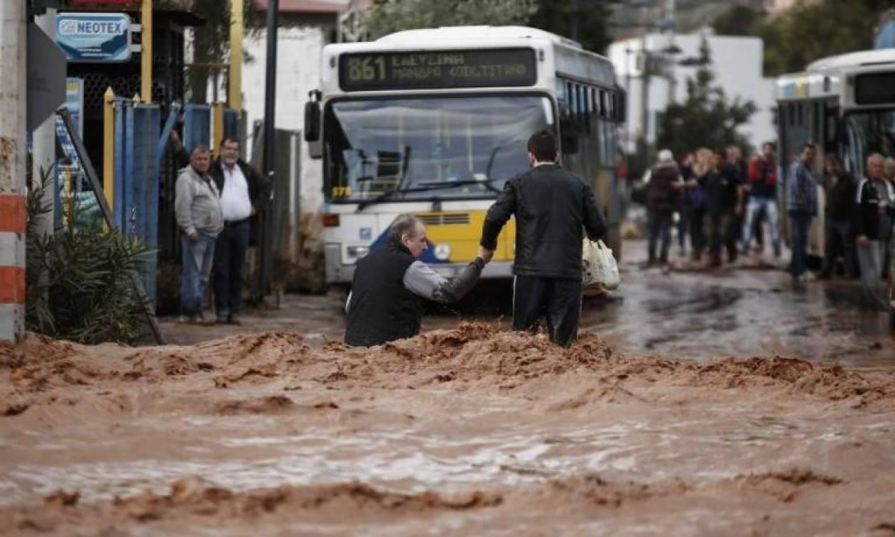 Αποτέλεσμα εικόνας για μανδρα πλημμύρες