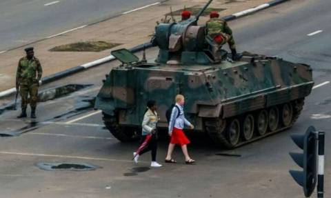 Στρατός Ζιμπάμπουε: «Πήραμε την εξουσία, αλλά δεν είναι πραξικόπημα»
