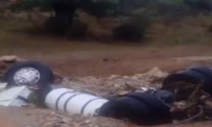 Καιρός - πλημμύρες: Αγνοείται 32χρονος οδηγός φορτηγού (vid)