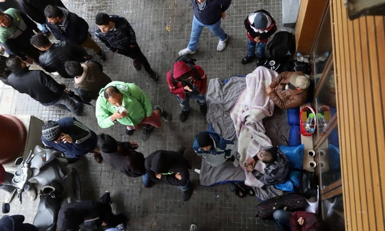 Θεσσαλονίκη: Έληξε η καθιστική διαμαρτυρία των προσφύγων