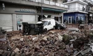 Κακοκαιρία: Πέντε οι αγνοούμενοι - Ώρες αγωνίας στη Μάνδρα Αττικής