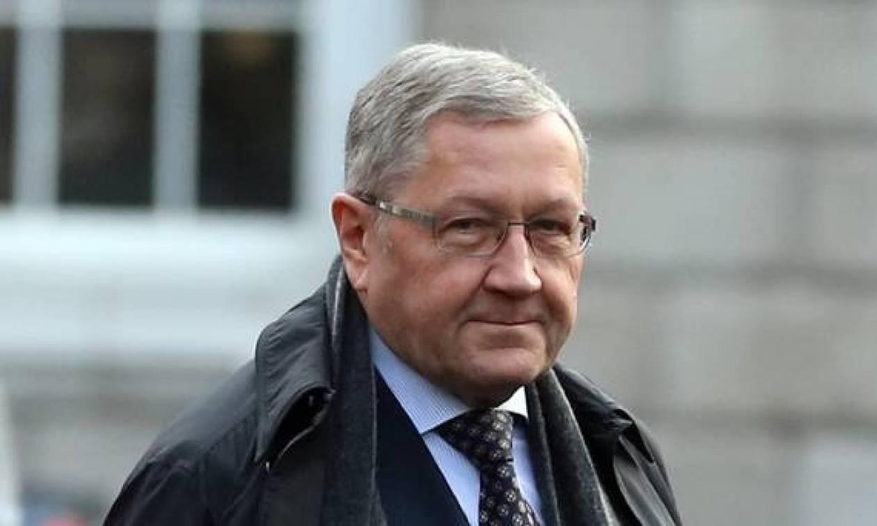 Κλάους Ρέγκλινγκ: Η Ελλάδα θα τα καταφέρει, αλλά πρέπει να τηρήσει το πρόγραμμα