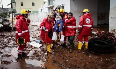 Ελληνικός Ερυθρός Σταυρός: Στις πληγείσες περιοχές επί 24ωρου βάσεως (vids)