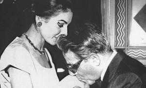 Μαρία Κάλλας – Αριστοτέλης Ωνάσης: «Ο πόνος του έρωτα»