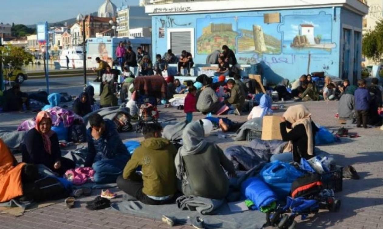 Γενική απεργία στην Μυτιλήνη τη Δευτέρα (20/11) για το προσφυγικό ζήτημα
