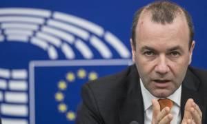 Πλημμύρες Αττική - Βέμπερ: Η Ευρώπη θα σταθεί στο πλευρό της Ελλάδας