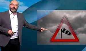 Πλησιάζει ο Μεσογειακός κυκλώνας! Τι λέει ο Σάκης Αρναούτογλου (video)