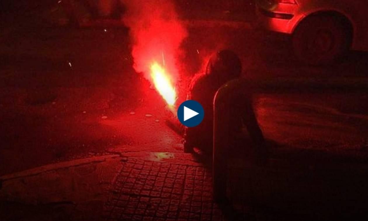 Συγκλονιστικό βίντεο: Η στιγμή του σοβαρού τραυματισμού γυναίκας στα Εξάρχεια