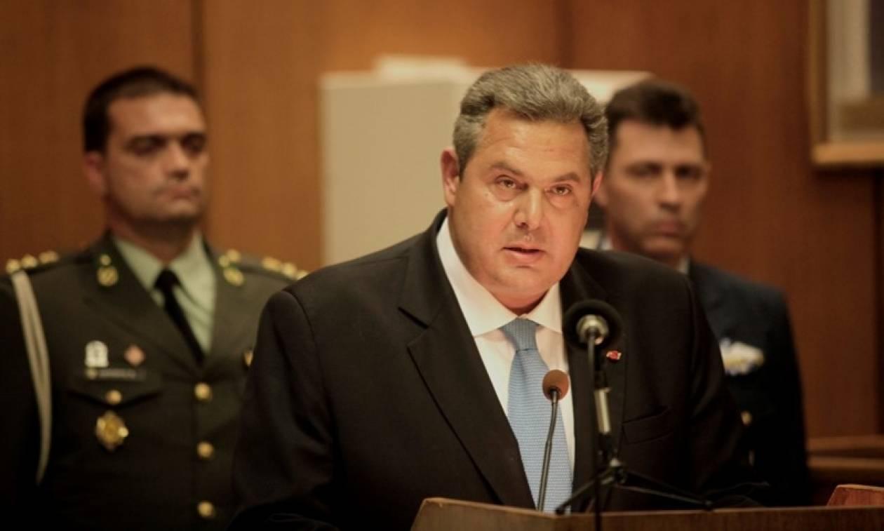 Καμμένος: Μετατίθενται όσοι υπηρετούσαν στην πύλη του Πενταγώνου κατά την εισβολή του Ρουβίκωνα