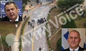 ΕΔΕ ζήτησε ο Καμμένος μετά την εισβολή του «Ρουβίκωνα» στο Υπουργείο Εθνικής Άμυνας (vid)