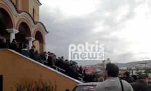 Σε κλίμα οδύνης η κηδεία του κυνηγού που πνίγηκε στη Μάνδρα - Αγνοείται ο αδερφός του