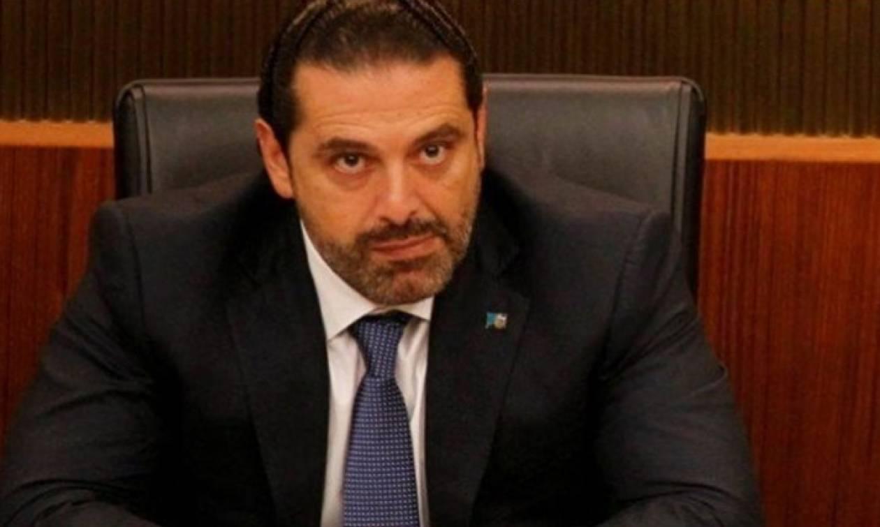 Στο Παρίσι ο παραιτηθείς πρωθυπουργός του Λιβάνου