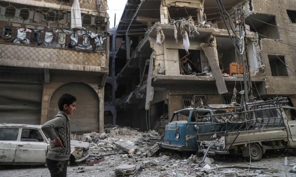 Μακελειό αμάχων στη Συρία