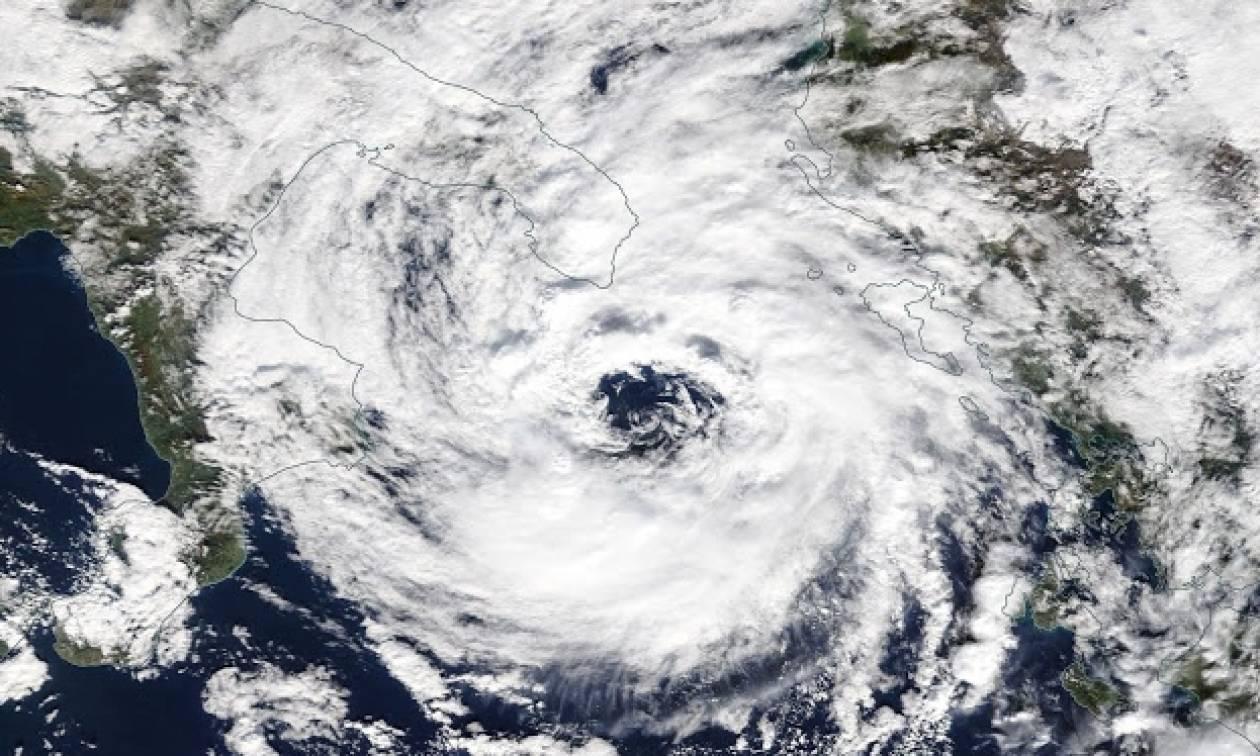 Κακοκαιρία: Δείτε ποιες περιοχές θα βρεθούν στο «μάτι» του κυκλώνα «Ζήνων»