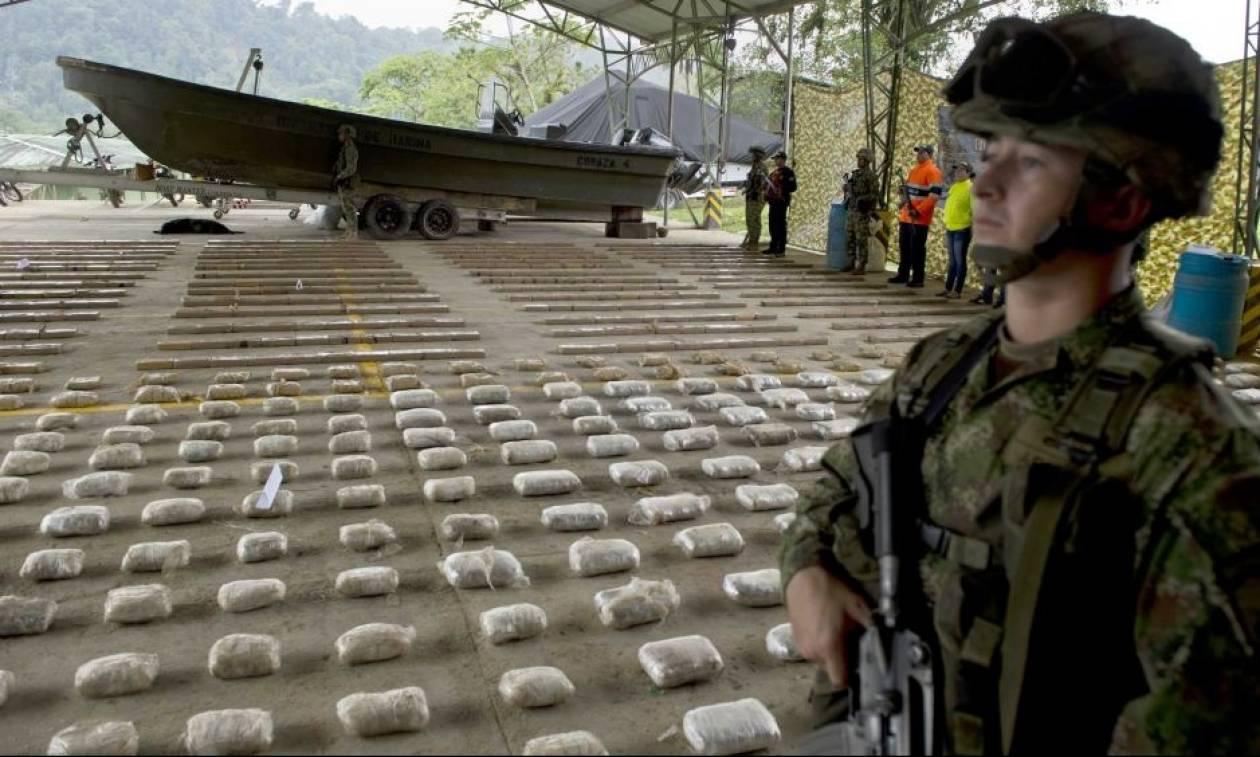 Κολομβία: Αποστάτες της οργάνωσης FARC σκόπευαν να «πνίξουν» τις ΗΠΑ στην κοκαΐνη