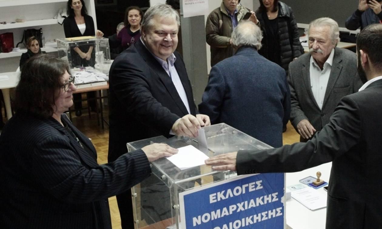 Εκλογές Κεντροαριστερά – Βενιζέλος: Ηθική υποχρέωση η ενότητα