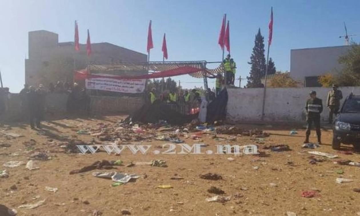 Τραγωδία: Ποδοπατήθηκαν στην ουρά για ένα πιάτο φαί – Τουλάχιστον 15 νεκροί (Pics+Vid)