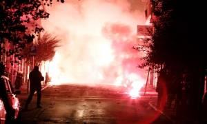 Επεισόδια Πολυτεχνείο: Δείτε τα ευρήματα των αστυνομικών στα Εξάρχεια