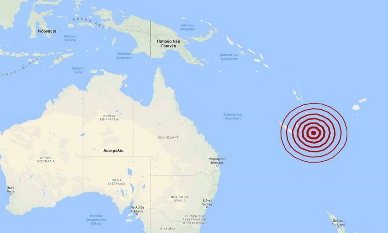 Σεισμός 7 Ρίχτερ στη Νέα Καληδονία (pic)