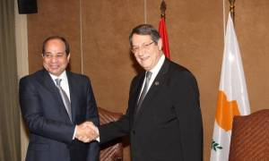 Στην Κύπρο για επίσημη επίσκεψη ο Πρόεδρος της Αιγύπτου - Αυξημένα μέτρα ασφαλείας