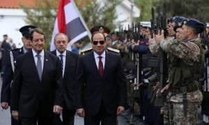 Αναστασιάδης: «Ορόσημο για περαιτέρω ενίσχυση των σχέσεων Κύπρου-Αιγύπτου η επίσκεψη Σίσι»