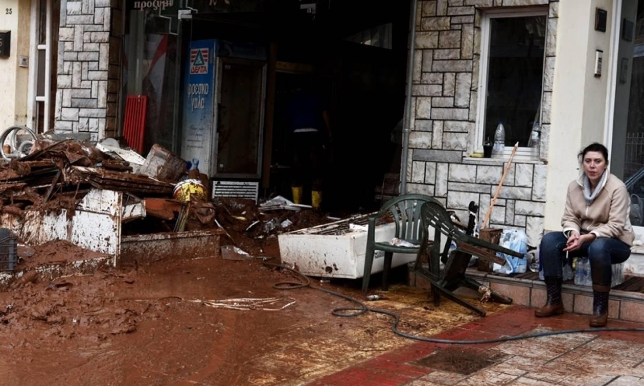 Κακοκαιρία: Τραπεζικό λογαριασμό για τους πλημμυροπαθείς άνοιξε ο Δήμος Μάνδρας