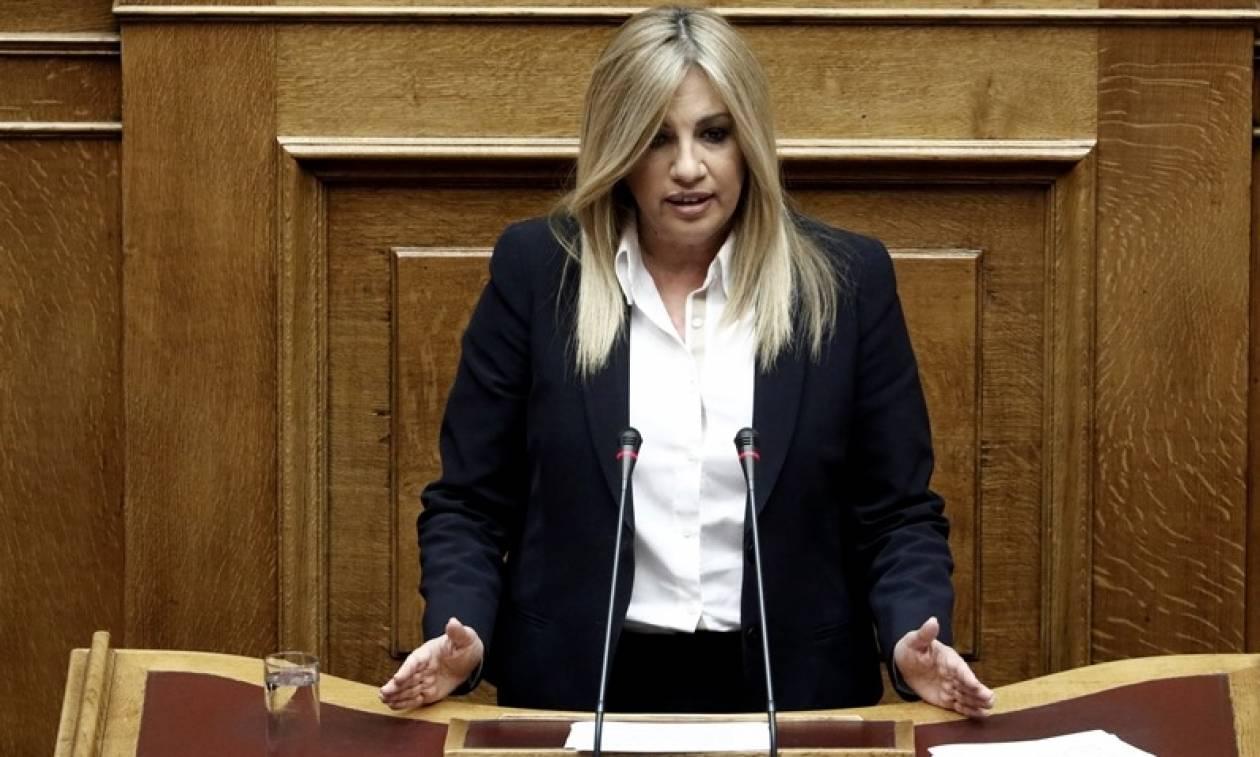 Γεννηματά: Άφησε ανοιχτό το ενδεχόμενο συνεργασίας με τον ΣΥΡΙΖΑ - «Συναίνεση υπό προϋποθέσεις…»
