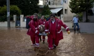 Ερυθρός Σταυρός: Τραπεζικός λογαριασμός για τους πλημμυροπαθείς της Δυτικής Αττικής