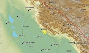 Νέος ισχυρός σεισμός στα σύνορα Ιράν - Ιράκ