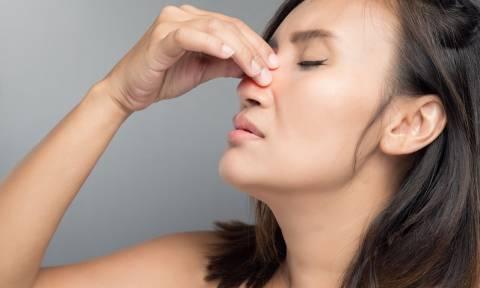 Επίμονη ρινική συμφόρηση: Μήπως φταίνε οι πολύποδες στη μύτη;