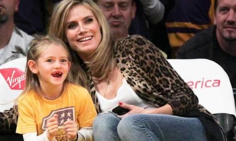 Αυτή είναι η κούκλα κόρη της Heidi Klum! Δείτε τις για πρώτη φορά μαζί μετά από πολύ καιρό