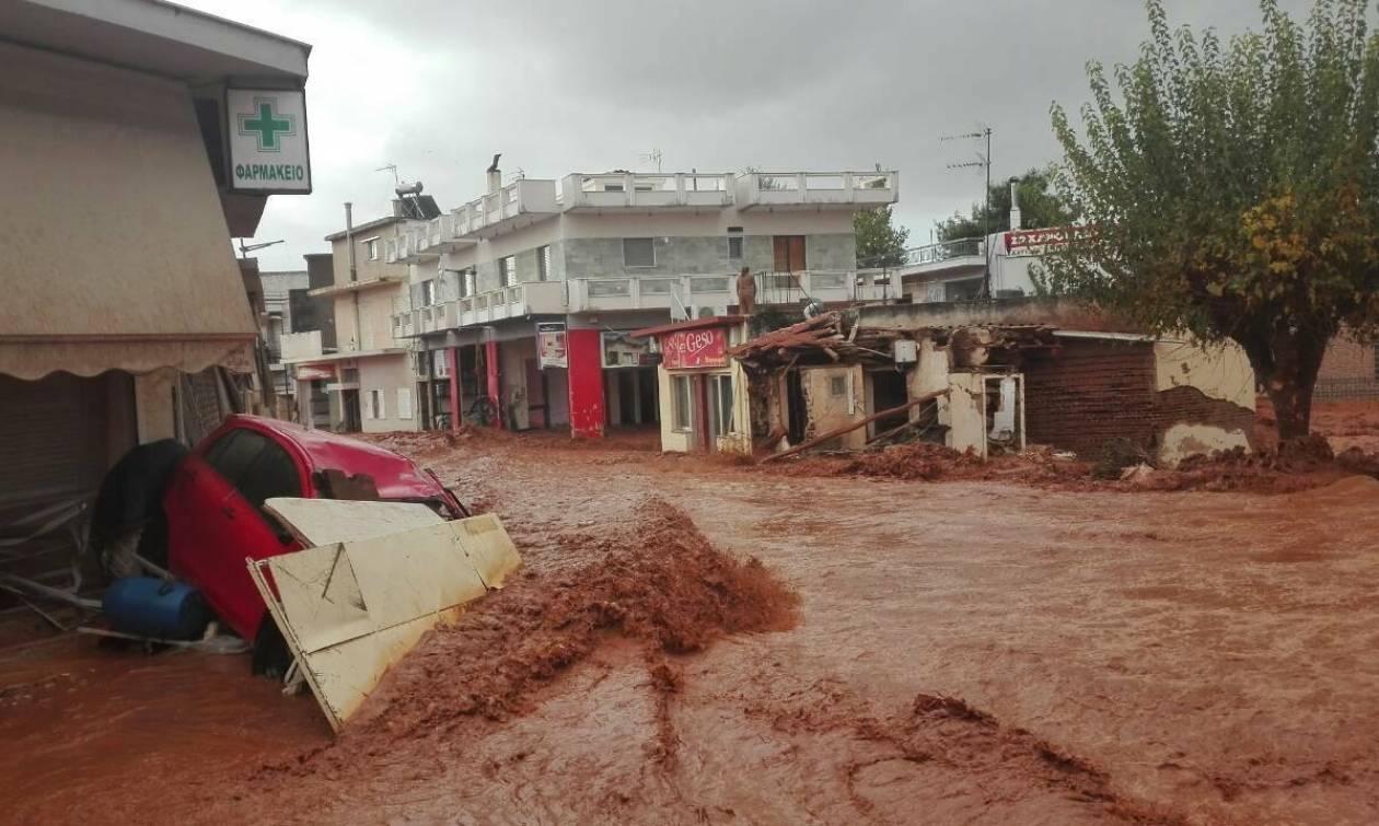 Πλημμύρες: Αυτά είναι τα ρέματα που απειλούν να «πνίξουν» την Αττική - Δείτε το χάρτη