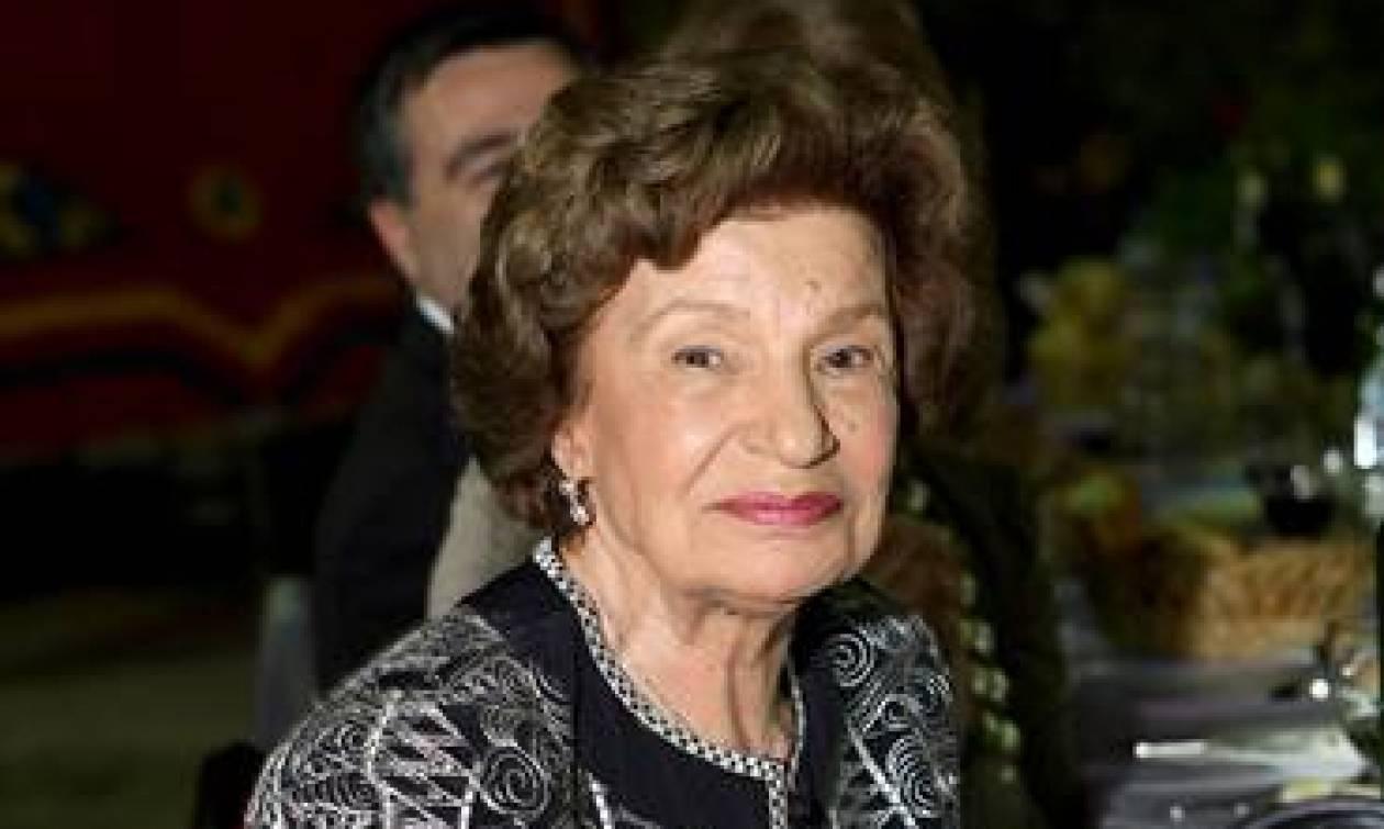 Πέθανε η Αλεξάνδρα Παπαδημητρίου